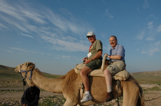 Charlie and me on the camel