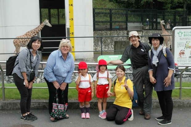 Anna's kindergarten class was visiting the zoo